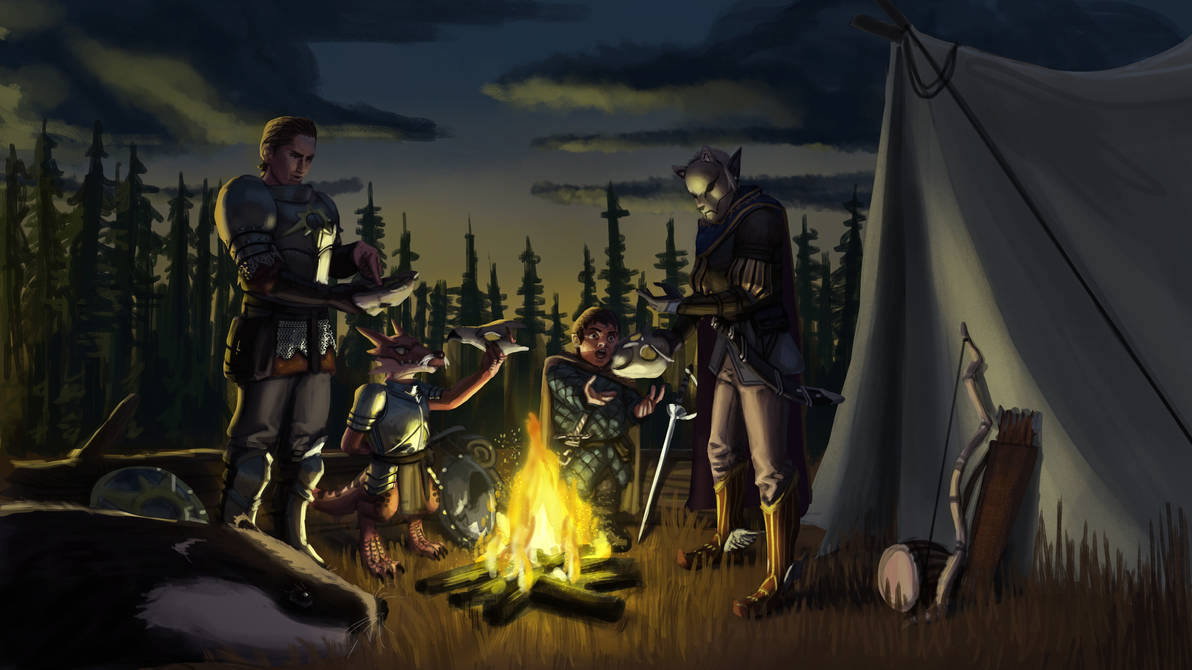 Dnd Party by SrIonart