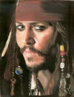 Johnny Depp by sketchychick
