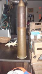 WW1 18 pound shell.
