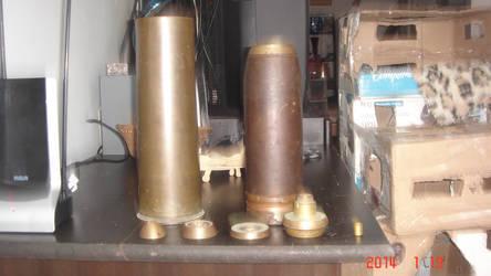 WW1 18 pounder shell deconstruction 2-2