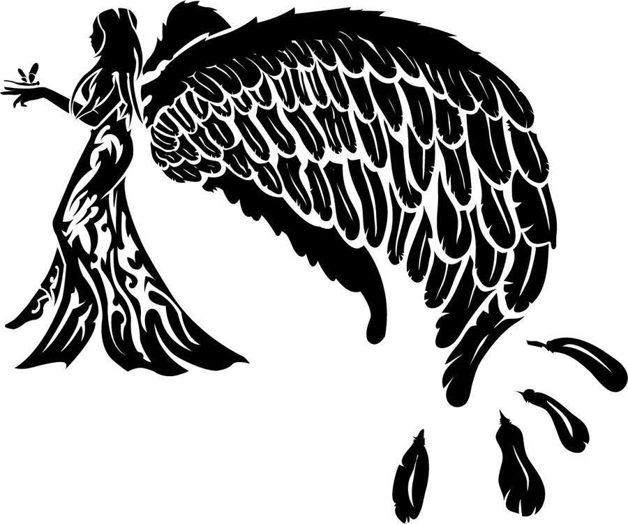 tribal angel.0 by warheart-warrior on DeviantArt