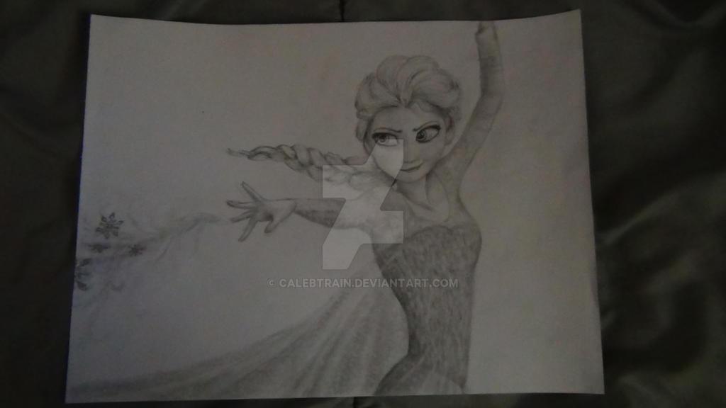 Elsa (From Frozen) by Calebtrain