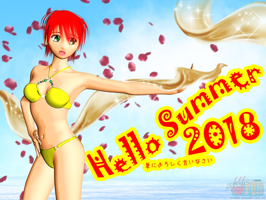 Say Hello to Summer 2018 by Buaya-kun