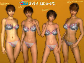 2019 Line-Up - Realistic by Buaya-kun