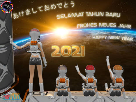 New Year 2021 - Zero Gravity First Sunrise