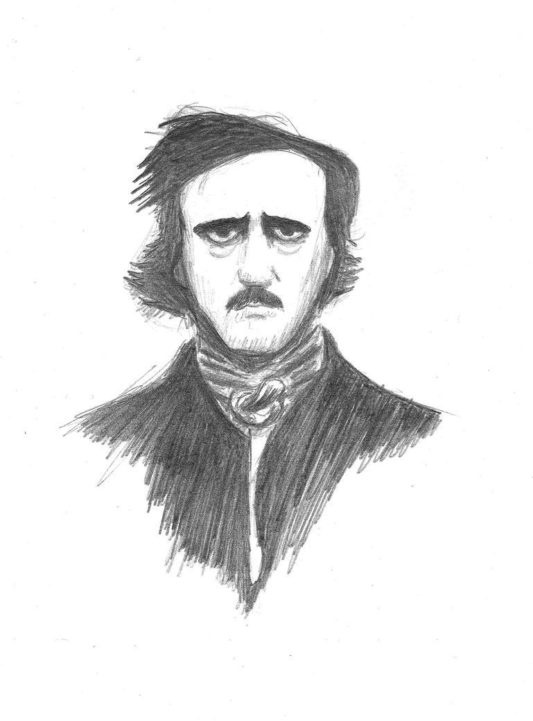 Poe - Sketch by edgargruesome