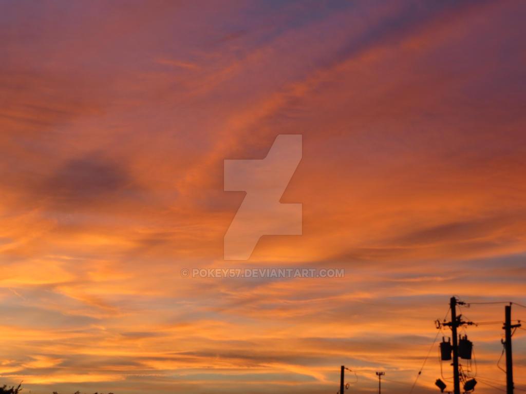 Football Sunset by Pokey57