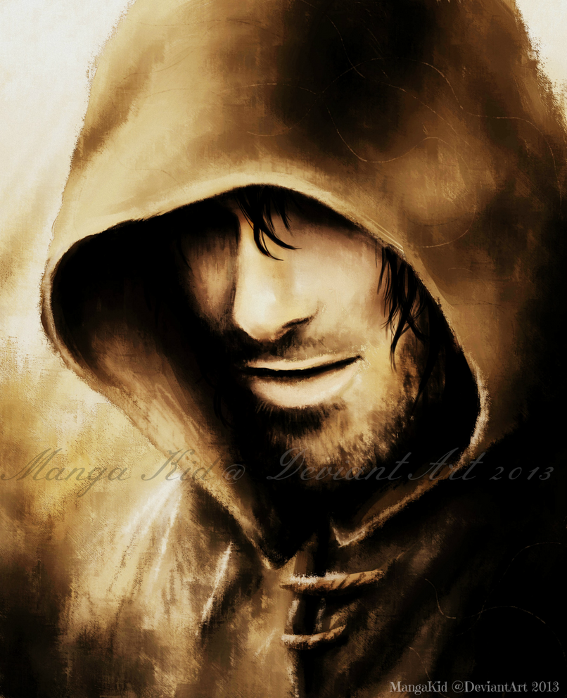 Hooded Stranger by MangaKidArt on DeviantArt Lotr