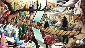 My Artistic Journey by MangaKidArt