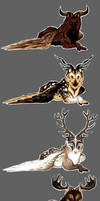 Legendary Stag Wolf Adopts [Closed]