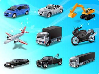 Free Transport Vector Icons