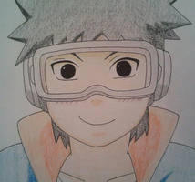 Obito Acting Cute by Britney151