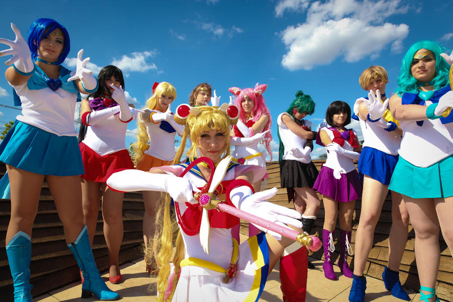 Girl power forever! by Tazziecosplay