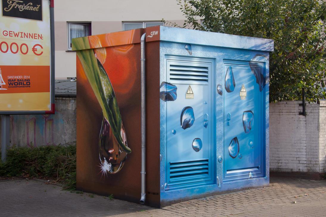 Painted transformer station #1 by JoergJohannMueller