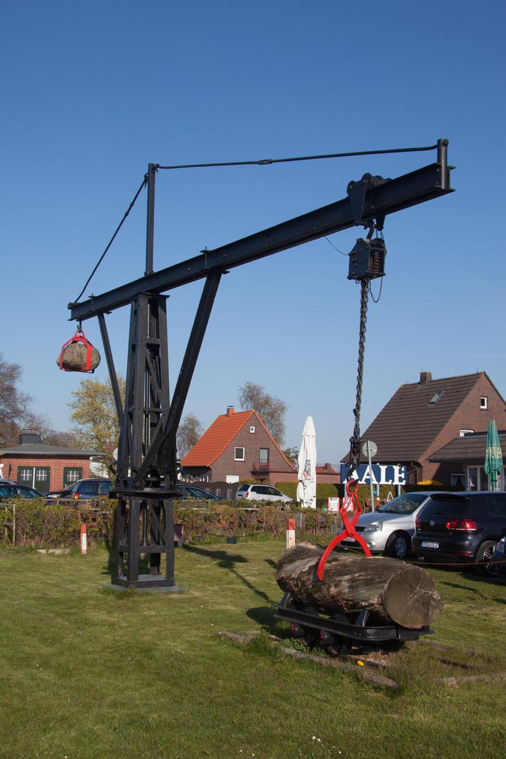Another old crane by JoergJohannMueller