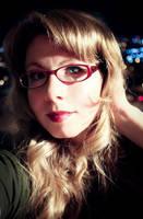 Self Portrait: Evening Light by icequeenserenity