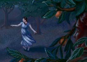 Dancing Under the Orange Trees by RosaleeLuAnn