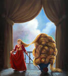 Rapunzel and her Hair