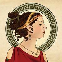 Mucha Attolia by RosaleeLuAnn