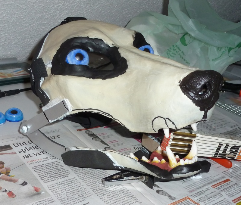 Wolf Mask Blank 3 by zyxwen