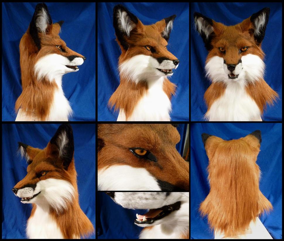 Fox Mask by zyxwen