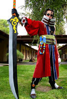Final Fantasy X: Full Auron by the-sushi-monster