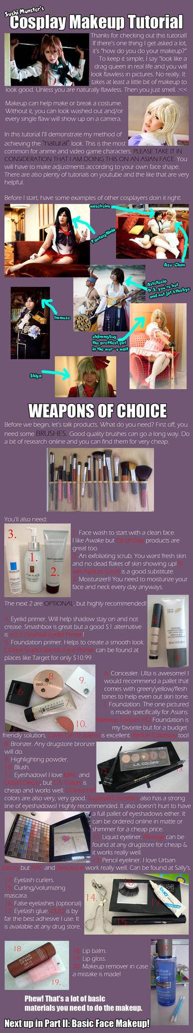 Cosplay Makeup Tutorial Part I