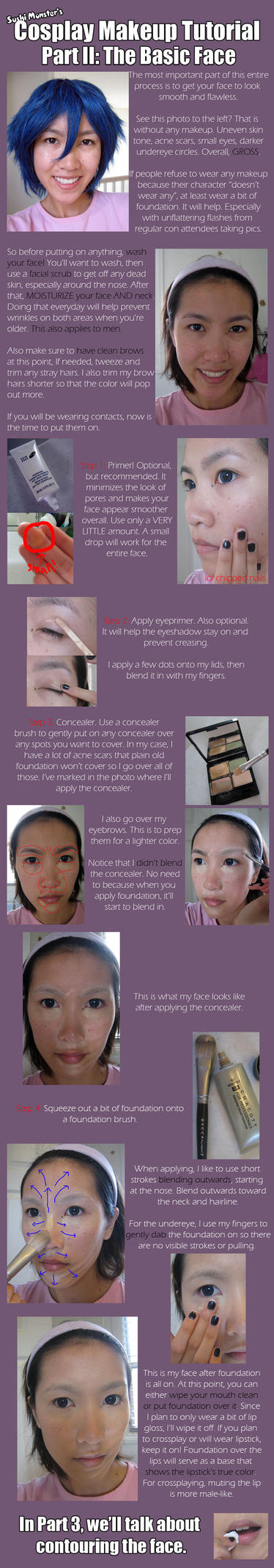 Cos Makeup Tutorial Part II by the-sushi-monster
