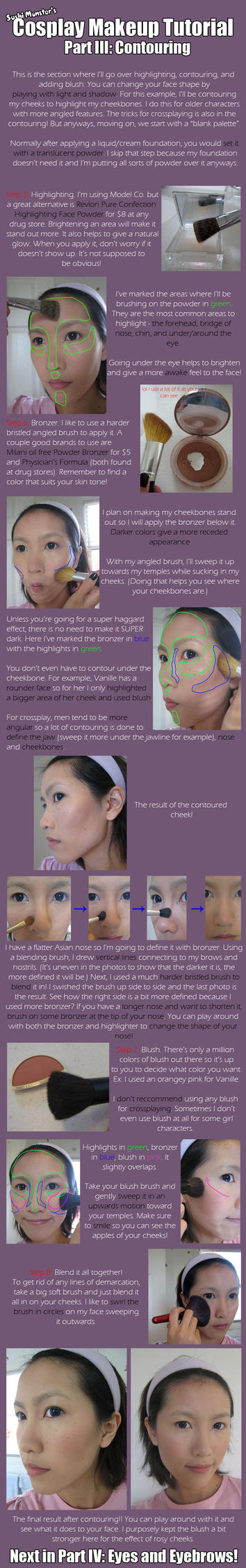 Cos Makeup Tutorial Part III by the-sushi-monster
