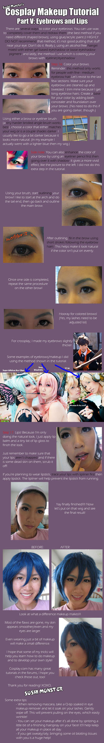 Cos Makeup Tutorial Part V by the-sushi-monster