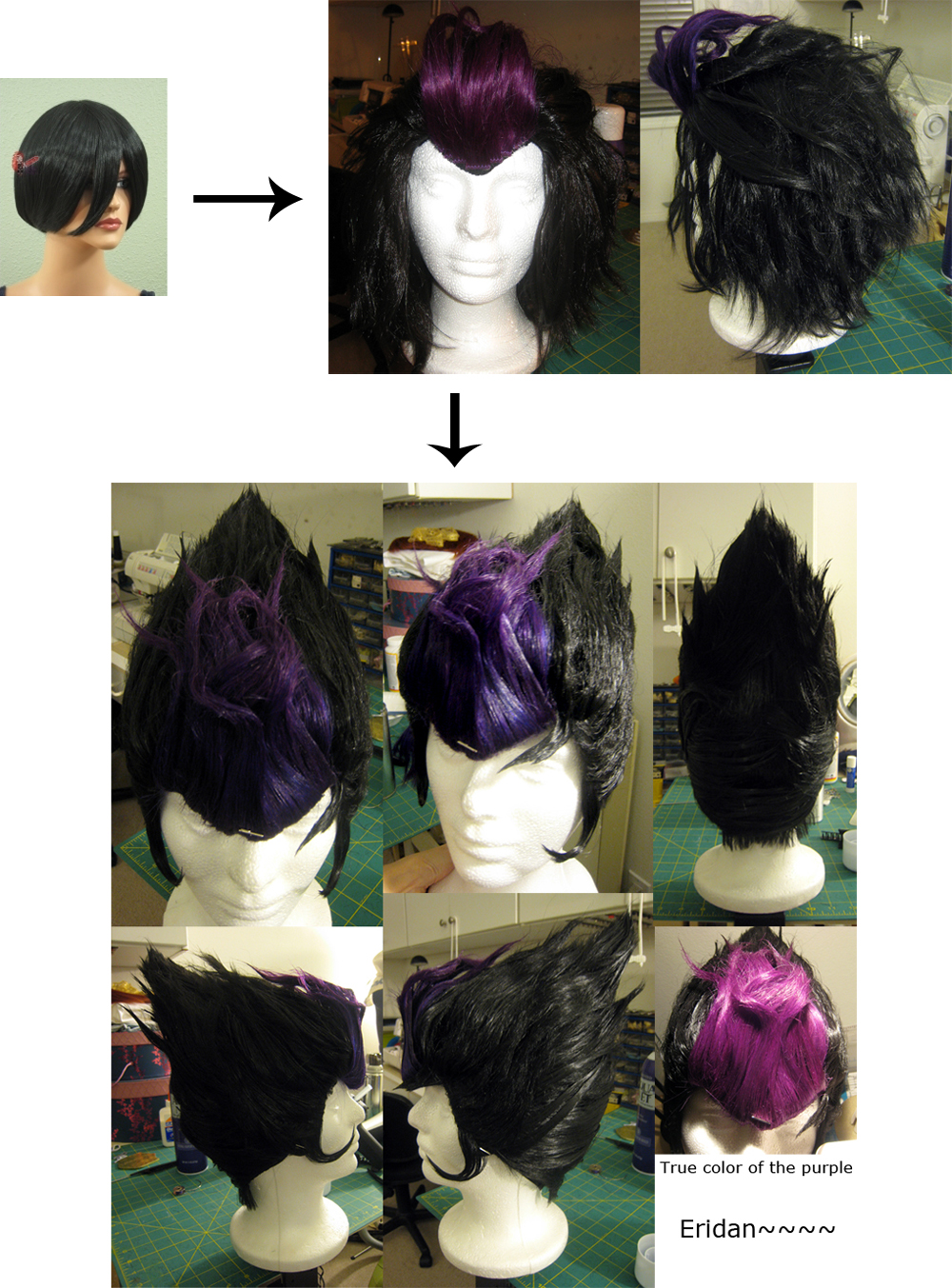 Wig Commission: Eridan by the-sushi-monster