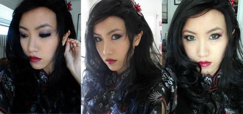 Asami Sato Makeup
