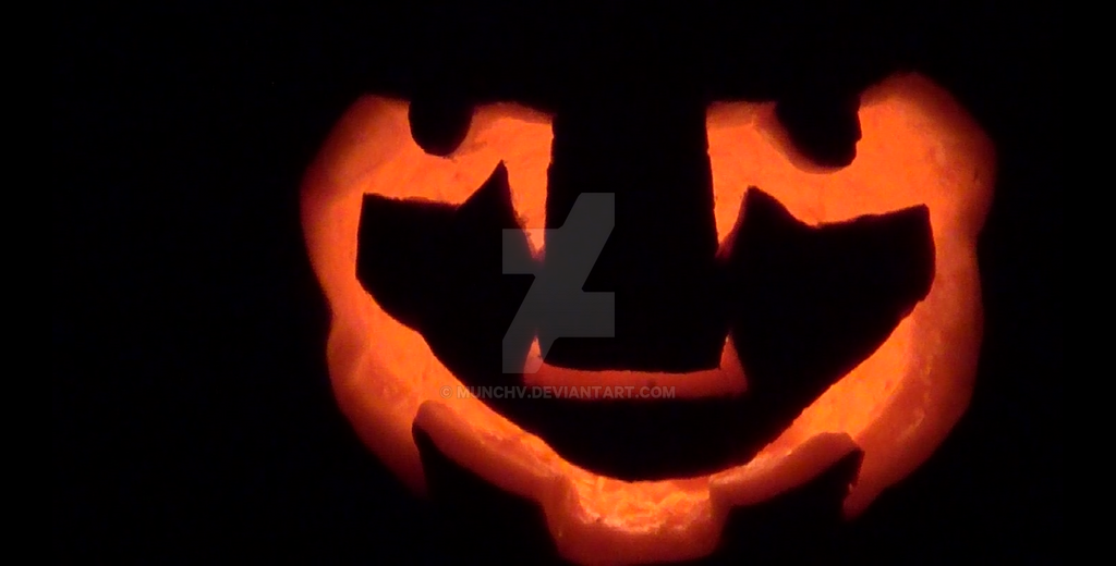 31 October 2015, My First Jack-o'-Lantern by MunchV