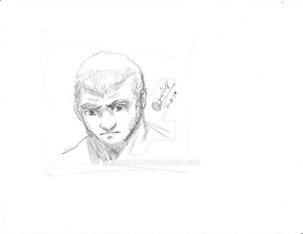 Vernedi Doodles Episode 2: The Man by MunchV