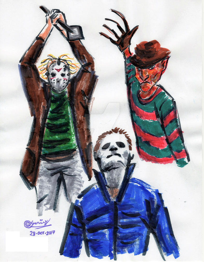 Freddy Vs Jason Michael By Gerard V MunchV