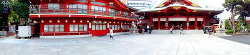 Shrine Lookabout Part 1 by DreamerNekoInu