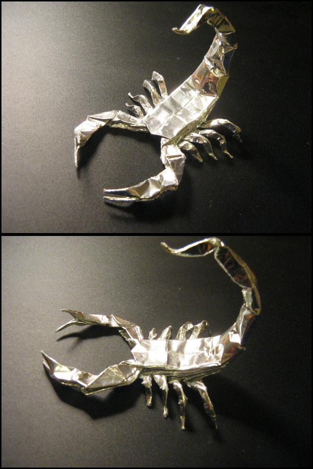 Origami Scorpion By Lexar