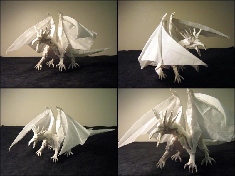 Origami Ancient Dragon by Lexar-