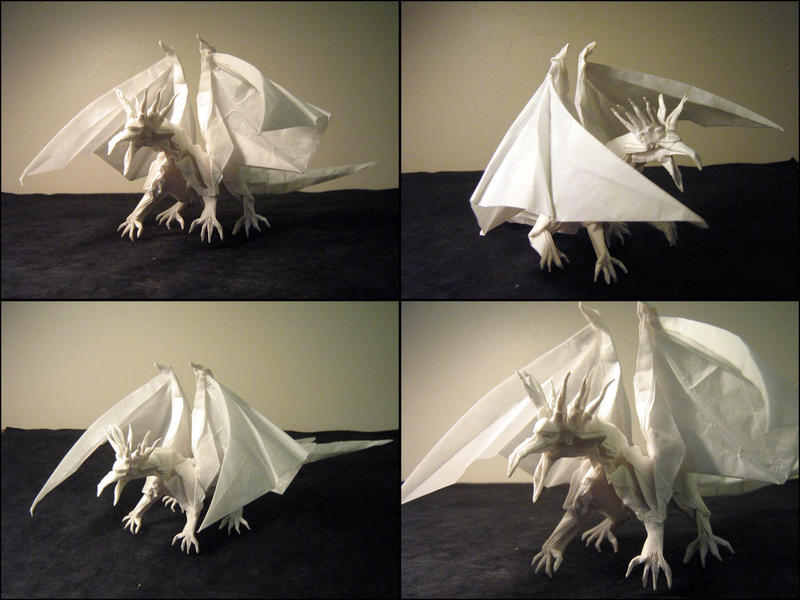 Origami Ancient Dragon By Lexar On Deviantart