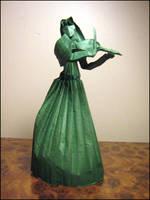 Origami Violinist by Lexar-