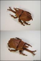 Origami Samurai Helmet Beetle by Lexar-