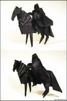 Origami Nazgul by Lexar-