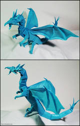 Origami Western Dragon