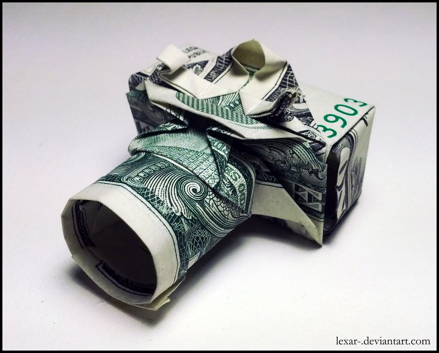 How To Make A Camera In Origami