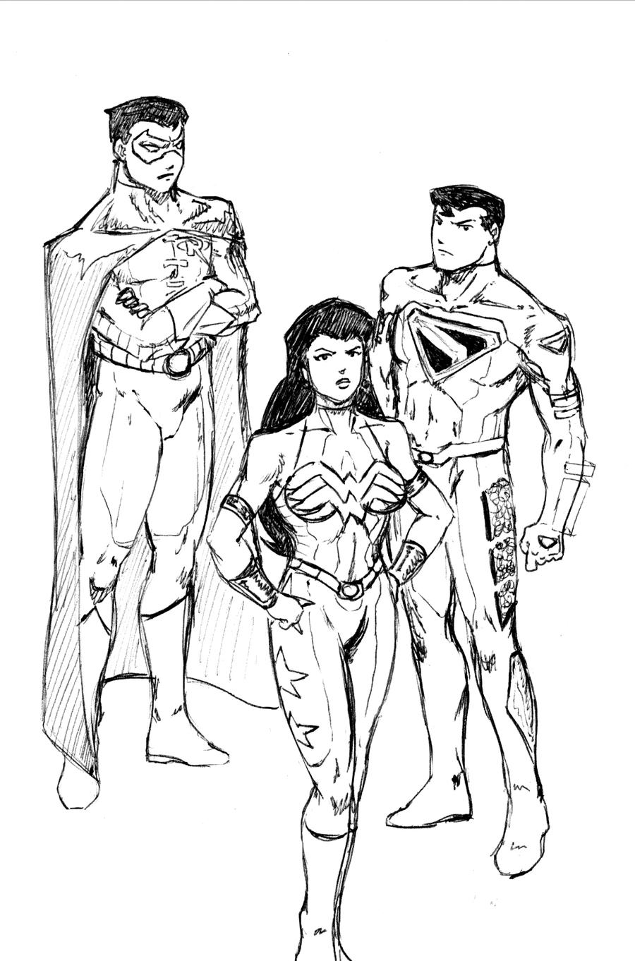 The First Young Justice by jondalar137