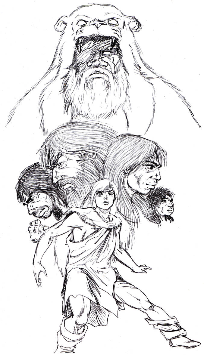 The Clan of the Cave Bear by jondalar137 on DeviantArt