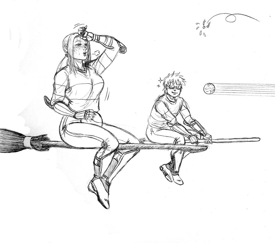 Printable coloring pages quidditch sketch coloring page for Quidditch coloring pages
