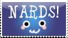 NARDS stamp by bizarrostamps