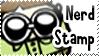 Nerd Support Stamp by bizarrostamps