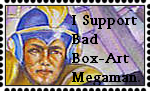 Bad Box Art Megaman Stamp by MugoUrth